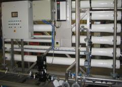 Installation of purification of drinking water