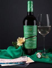 Вино Вионье белое полусладкое