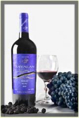 Вино Сира красное сухое