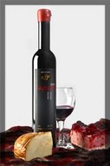 Вино Мерло красное десертное