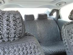 Covers are knitted