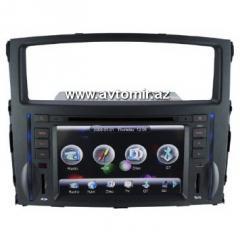 The regular autoradio tape recorder for Mitsubishi