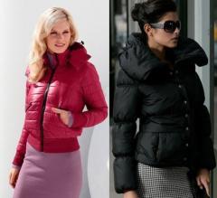 Куртки женские стеганые