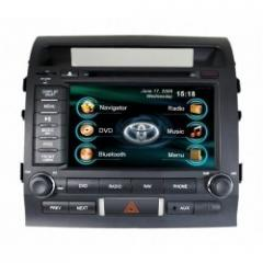 The monitor for Land Cruiser 200