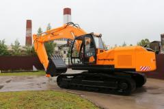 Excavator one-bucket Amkodor 923