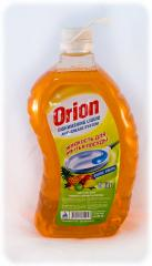 Liquid for washing of ware of Orion the 5th liter with aromas of exotic frui
