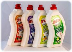 The Orion detergents, balm with different aromas