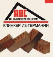 "Кирпич клинкерный  ""ABC Klinkerguppe"""