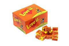 Жевательная резинка Love is... со вкусом апельсина