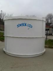 Su çəni - 10-80 tonluq