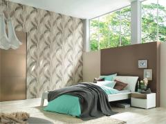 Wall-paper for a bedroom