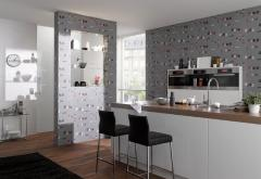 Wall-paper for kitchen
