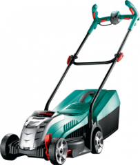 Accumulator lawn-mower of Bosch Rotak 32 LI High