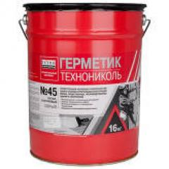 Sealant butylrubber TechnoNIKOL No. 45