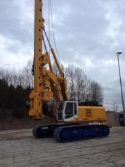 Bauer Bg 28 H drilling rig