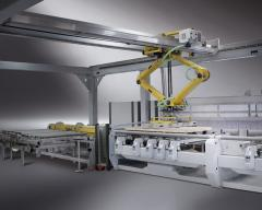 The processing centers with ChPU B700 - production of doors