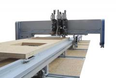 The combined system for production of the wall WEK 100 panels