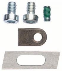 Set of 5 knives on sheet Bosch metal