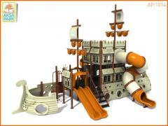 Металлическая Игровая Площадка Корабль AP.1014