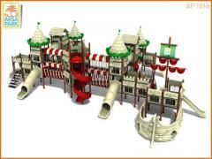 Металлическая Игровая Площадка Корабль AP.1016