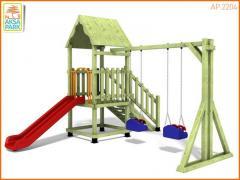 Деревянная Игровая Площадка AP.2204