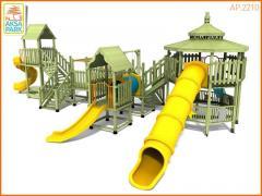 Деревянная Игровая Площадка AP.2210
