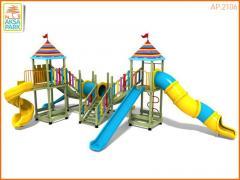 Деревянная Игровая Площадка AP.2106