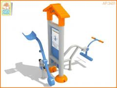 The street exercise machine for Disabled people of