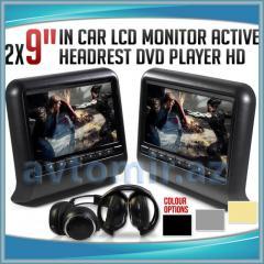 Monitors for head restraints. Başlıqlar üçün
