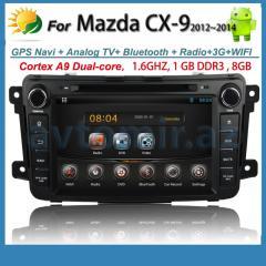 MAZDA CX9 DVD-monitor. DVD-MAZDA CX9 monitor.