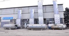 Oxygen K-0,15 installation, 150 m3/h
