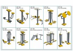 Exercise machines for the stree