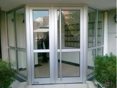 Aluminum door and window systems