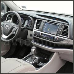 TOYOTA HİGHLANDER 2015 üçün GPS DVD-monitor.GPS