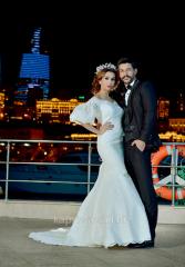 Свадебное платье из гипюра ELIZABET