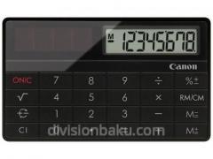 Canon Calculator X Mark I Card Black calculator