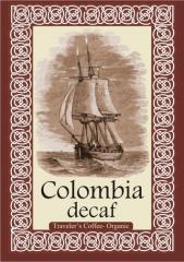 Кофе в зернах Колумбия без кофеина