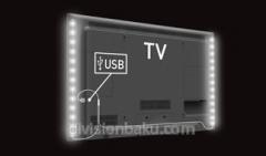 Illumination of Barkan Tv Mood Light Kit White