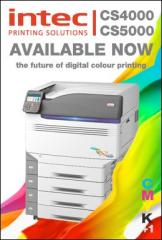 The Intec cs4000 laser printer in Bak