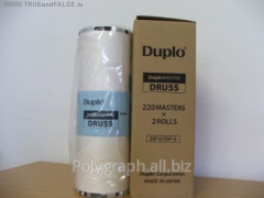 The master film for risographs of Duplo DPS 550 A3