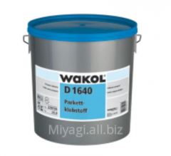 Glue for parquet of Wakol D 1640