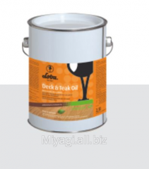 Oil for a floor of Loba® Deck&Teak Oil