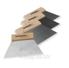Parquet toothed palette Wakol
