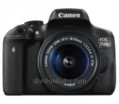 Canon digital camera 750d kit 18-55 camera