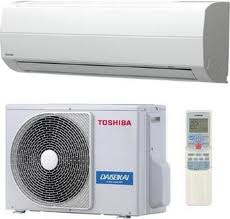 Conditioners with system of a filtration Toshiba