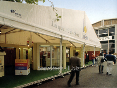 The construction is awning,  trade