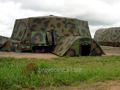 Mobile military hangar