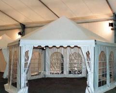 Мультиформатный шесигранный павильон