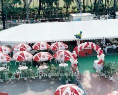Мультиформатный восьмигранный павильон шатровый