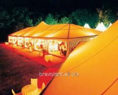 Многоугольный шатровый тент для проведения мероприятий